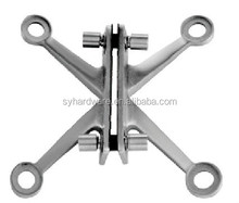 Stainless steel 304/316 glass curtain wall spider fitting from china manufactory
