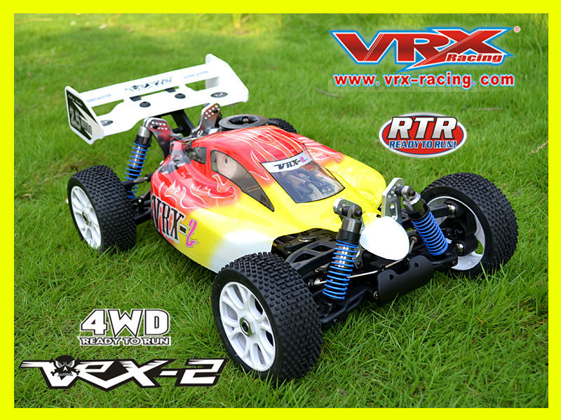 hot toy 1:8 rc car, 4WD nitro buggy, factory price