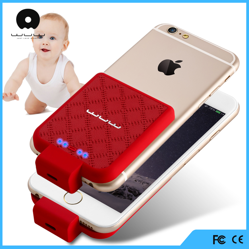 new products 2016 innovative product powerbank smartphone 2200mah for iphone 6 case with battery