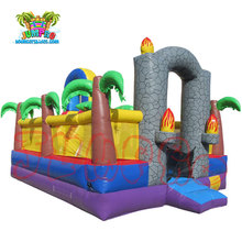 commercial grade Backyard Toddler inflatable amusement park, giant inflatable playgrounds for kids