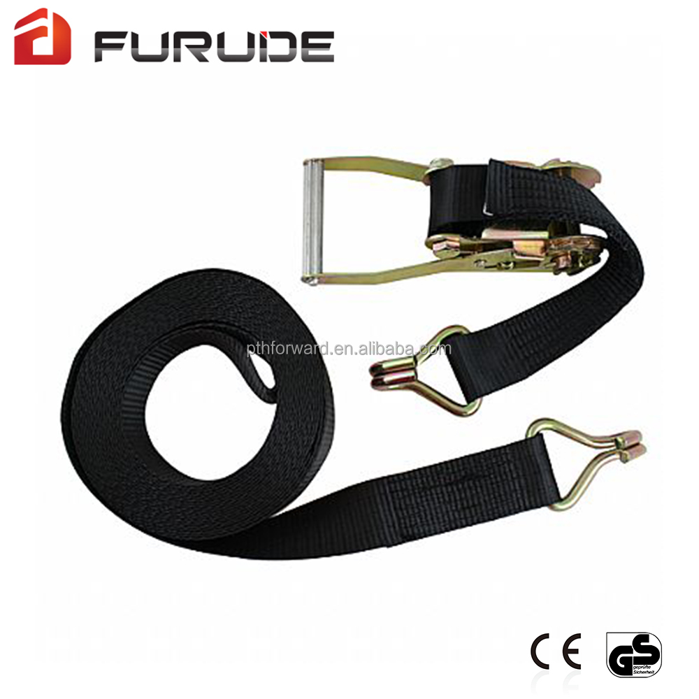 1-12 ton durable ratchet tie down straps for transportation