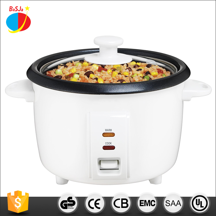 Home Kitchen Appliance Potable Travel 300W 0.6L 3 Cups 6ups Drum Electric Small Mini Rice Cooker