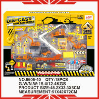 1:87 scale 6605-40 metal construction sets toy