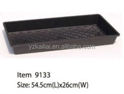 plastic tray without holes hydroponic trays seed tray