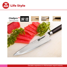 High quality 8 inch 67 layers Japanese damascus chef knife with VG10 blade and Micarta handle