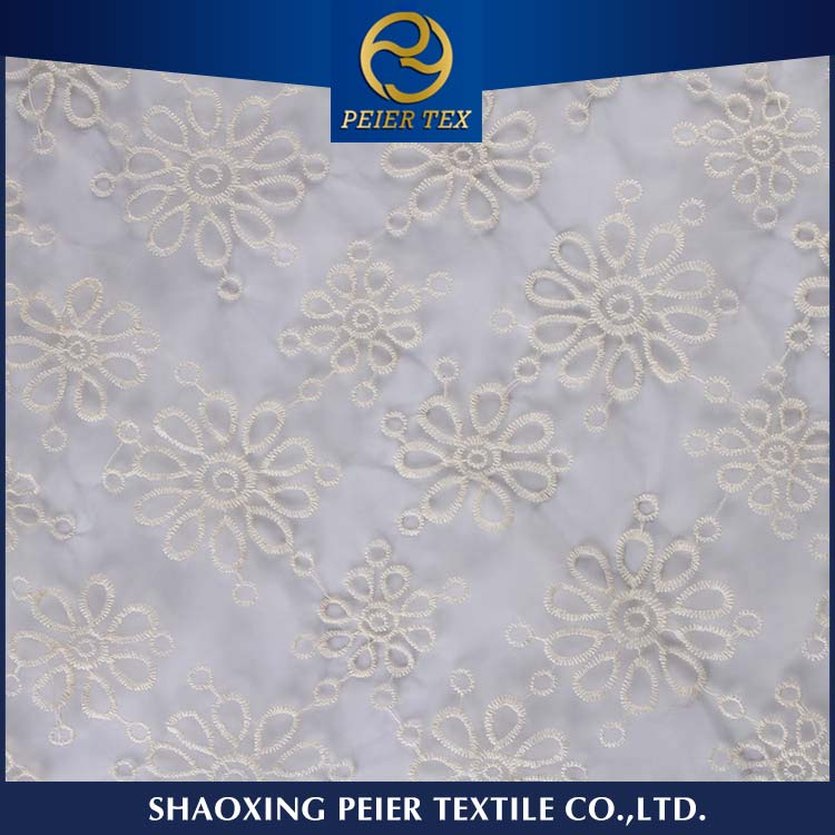 Textile supplier embroidery mesh, baby lock embroidery machine, embroidered floral fabric