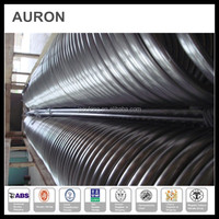 AURON/HEATWELL water tank spiral ss 304L heating tube/water storage twisted heating coil/ss electric coil heater