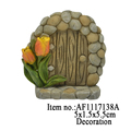 Wholesale Garden Ornament Resin Crafts Figurine Resin Door