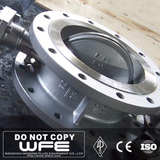 API 609 WCB Butterfly Industrial Valves