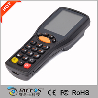 Portable data terminal data collector with barcode scanner