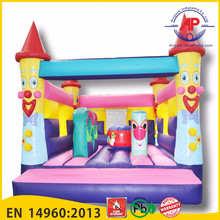 Airpark Can switch art panel inflatable bouncer castle 5*5m cheap jumping castle for sale