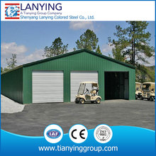 high quality steel structure shed for car parking