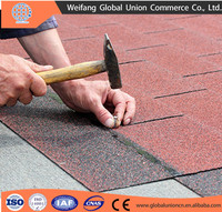 cheap asphalt shingle/ roof tiles in China