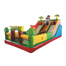 2017 New water playground jumping castles inflatable water slides