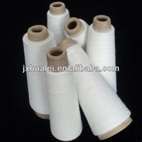 textile paper tube or coned polyester spun yarn