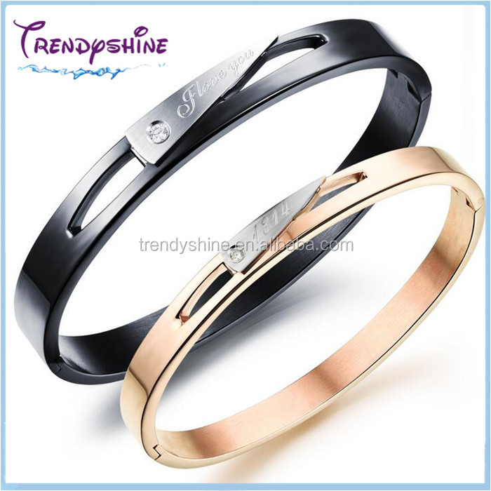 Fashion stainless steel custom engraved germanium bracelet benefits