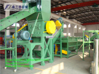 PP PE waste plastic film washing machine/recycling line