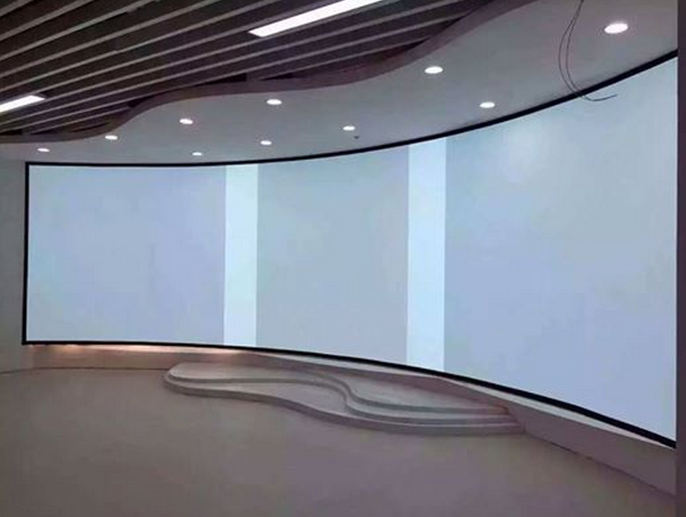reasonable price with high quality 3D silver curved projection screen