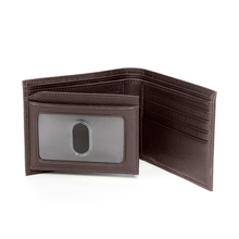 Trip-fold wallet leather