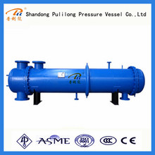 coaxial heat exchanger heat pump condenser with ASME standard