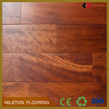 Indonesia UV lacquer merbau solid wood floor on alibaba china