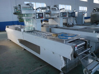 Automatic Modified Atmosphere Frozen Food/ Fast Food/Dry Food Packaging Machine