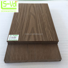 160*20mm wood plastic composite decking wpc floor solid wood flooring 3D art floor