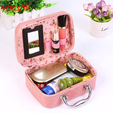 Shenzhen Yaeshii small decorative cosmetic makeup kits for professionals vanity box with easy carry