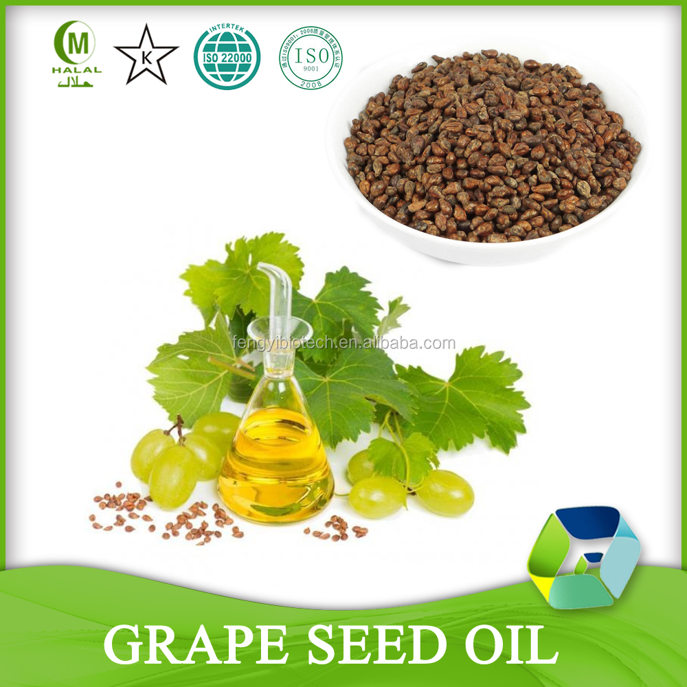 Cosmetic carrier oil Grape seed Oil /Grape Seed Oil Price/Bulk Grapeseed Oil for Cosmetics