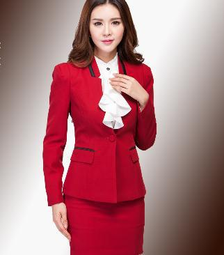 Z72275A Woman Business Suit Fashion Elegant Formal Women Suits