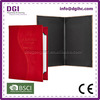 BSCI Supplier single menu folder plastic wine sleeve