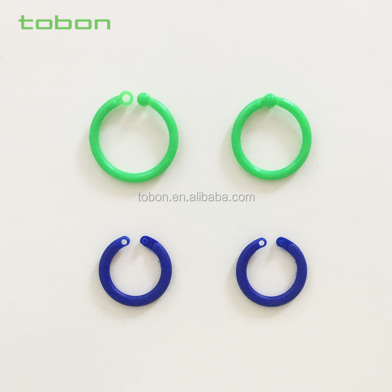 Plastic Color Book Rings,Card Ring,Binding Ring 15mm 20mm - Buy ...