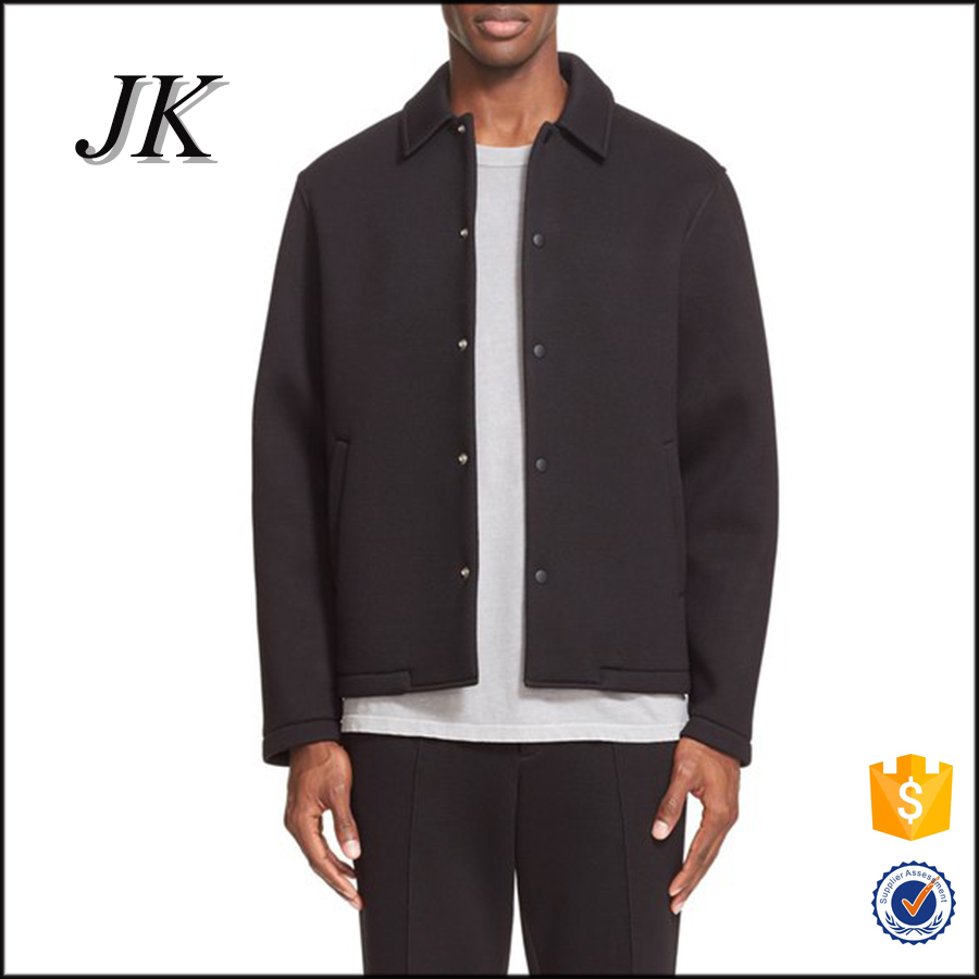 Customized top quality chinese winter coats and jackets men black coat for man