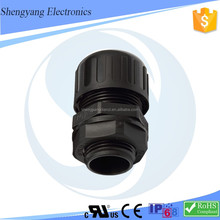 New Products MG / PG ROHS / IP68 Certification Protect The Wires Reduce Vibration Waterproof Conduit Connector