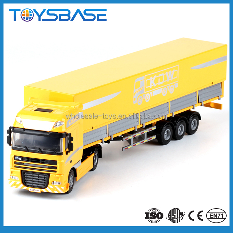 1:50 Diecast Flat Transport Cart Toy Diecast Model Trucks For Wholesale