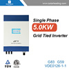 High quality 5kw sma inverter connect to best price solar panel for grid tie solar power system