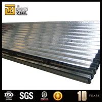 Corrugated galvanized zinc iron/steel roof sheets