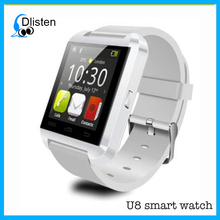 Hot Sale BIuetooth BT Smart Watch U8 Smartwatch for iPhone Samsung S4 Note 3 HTC For Xiaomi Android Phone Smartphones