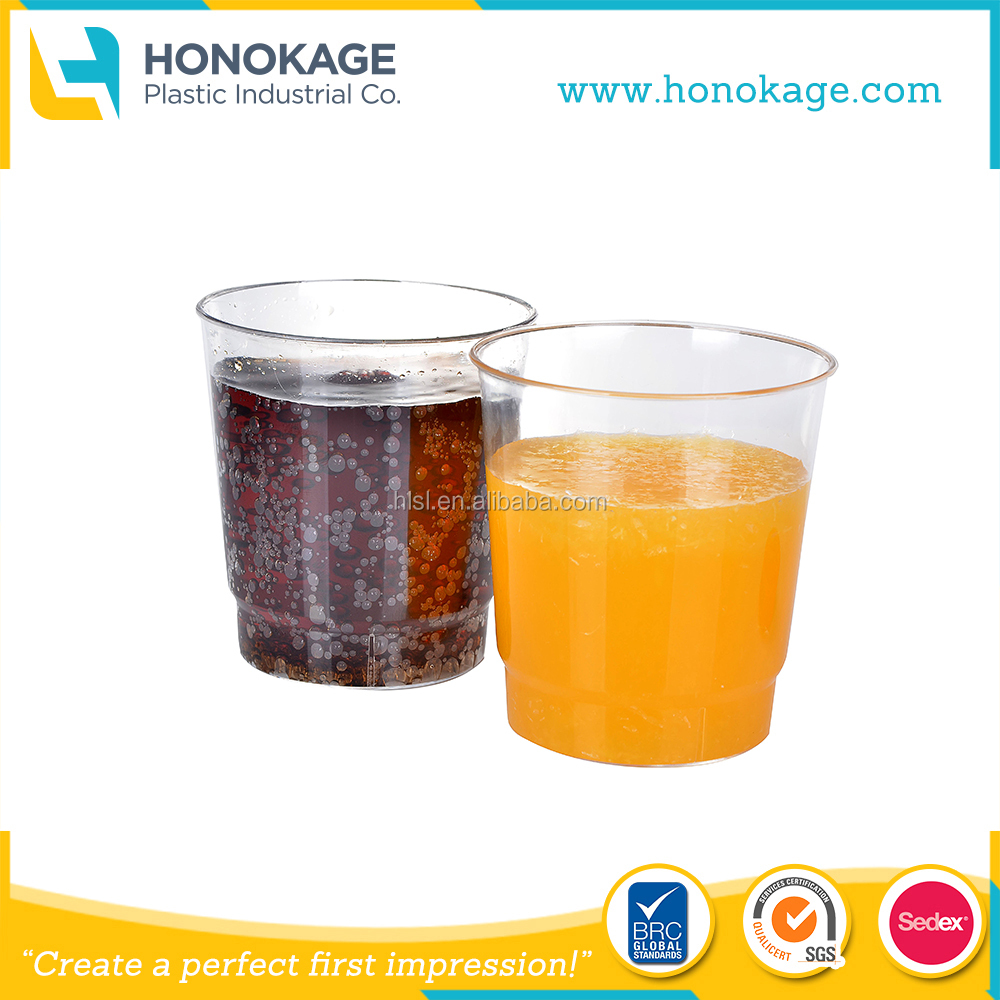 OEM IML Plastic Coffee Cup/Mill Cup Disposable Clear PP Cup For Hot Cold Drink