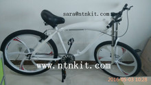 2 cycle Motorized Bike with white color/NTNKIT 2 cycle bicycle/moped bike/motorcycle