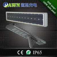 80W new design factory sales price integrated all in one solar led street light lamp led street light 130lm/w