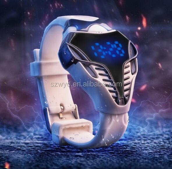 Cool Men Cobra LED Digital Wristwatches Red Blue LED Light, Watch Manufacturer Supplier Exporter