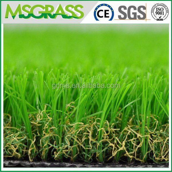2015 new product ISO 40mm garden landscaping artificial football turf