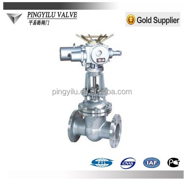 russia pn16 pn25 pn64 pn100 motorized gate valve for water gas oil pipeline