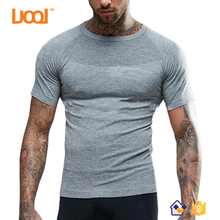 2017 Summer Gym Sport Dry Fit Men Ripped T shirt