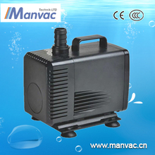 Dong guan factory preduce price Black 220V 50hz lower electric consumption electric water pump for aquatic breeding filter