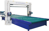 cnc polyurethane foam cutting machine HV2 with double knife