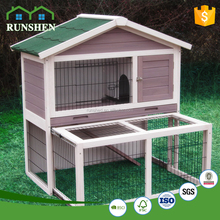 Factory Export Directly Large Run Wooden Rabbit House Designs