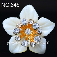 resin flower artificial plastic flower pearl embellished jewelry accessories girl-645
