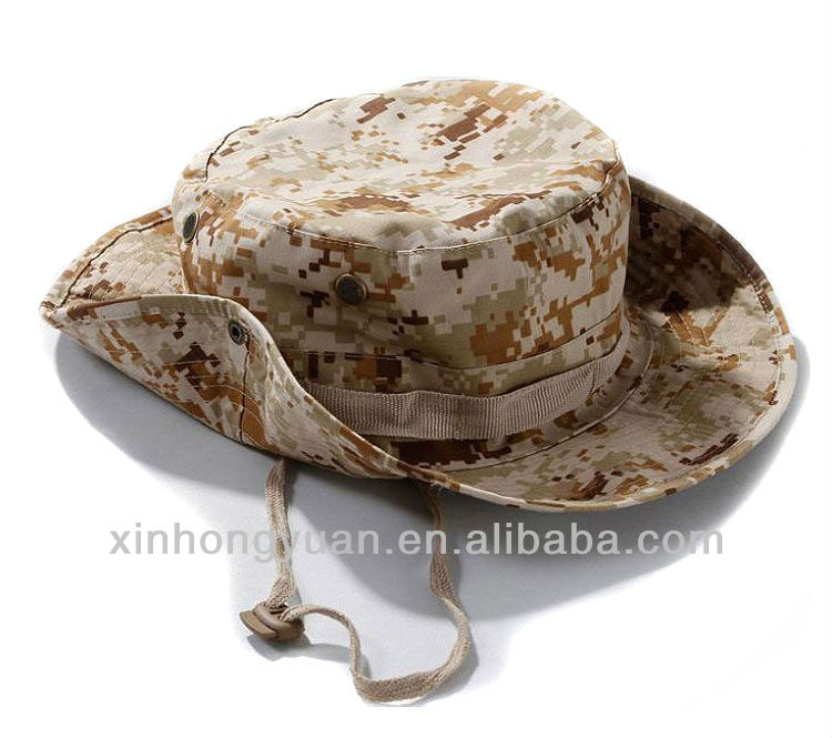 fashion military camouflage hat/sunscreen sun hat
